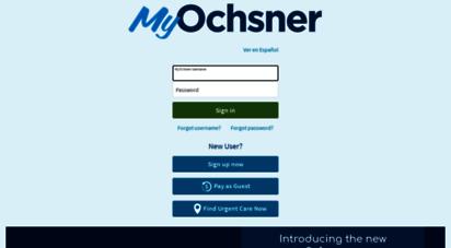 my oschner