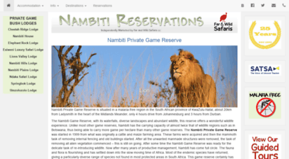 nambitireservations.co.za