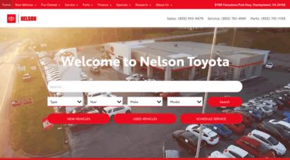 Exceptional Nelsontoyotava.com. Description: Nelson Toyota VA.