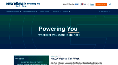 Welcome To Nextgearcapital Com Nextgear Capital Dealer Floor
