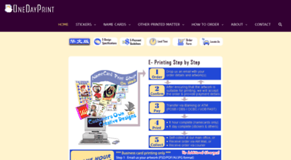 Welcome to onedayprint name card printing singapore onedayprint reheart Image collections