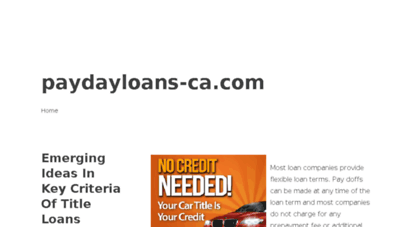 paydayloans-ca.com