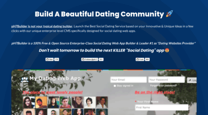 php dating open source