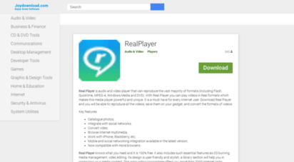 realplayer.joydownload.com