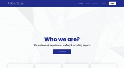 Welcome To Rekruiteasy Com Rekruiteasy Recruitment Portal Post
