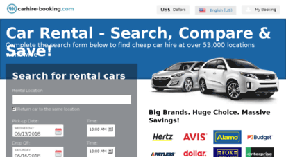 Welcome To Reservations Carhire Booking Com Rental Cars