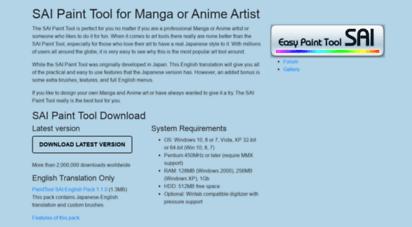 paint tool sai english full download