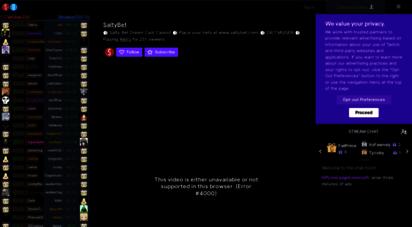 welcome to saltybet com salty bet