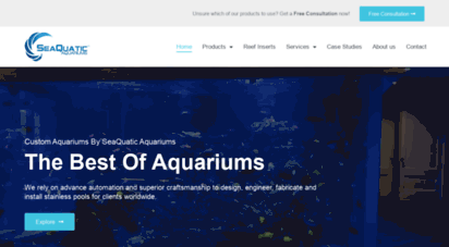 seaquaticaquariums.com