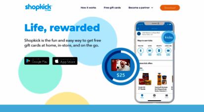 Welcome to Shopkick com - Shopkick   Best Shopping Rewards App