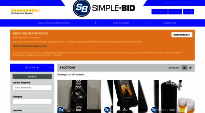 simplebidinccom description simple bid