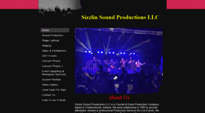 sizzlinsoundsproductions.com