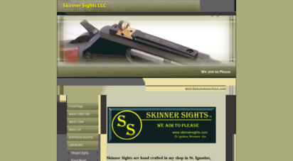 Welcome to Skinnersights com - Marlin peep sights