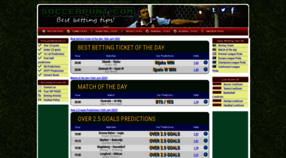 Welcome to Soccerpunt com - Soccer Picks & Predictions by SoccerPunt com