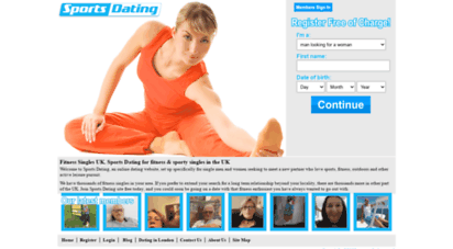dating sporty singles