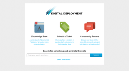 support.digitaldeployment.com