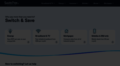 Welcome To Switcher Ie Compare Ireland S Best Energy Broadband Mobile Deals