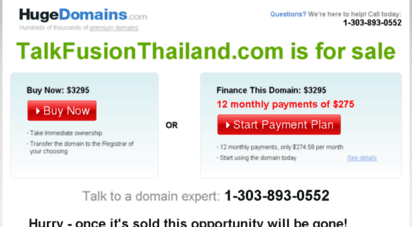 talkfusionthailand.com