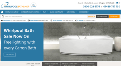 thewhirlpoolbathshop.com