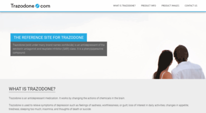 Buy Trazodone