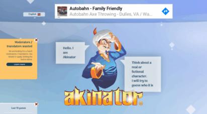 www akinator com game