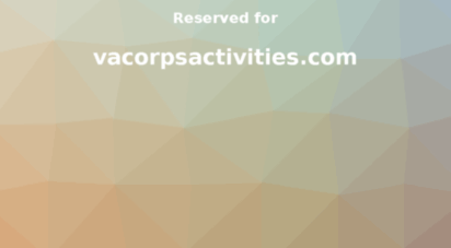 vacorpsactivities.com