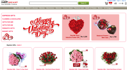 Welcome To Valentine Gifts Rediff Com Valentine Gifts Online