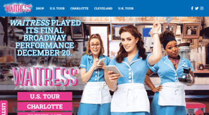 waitressthemusical.com