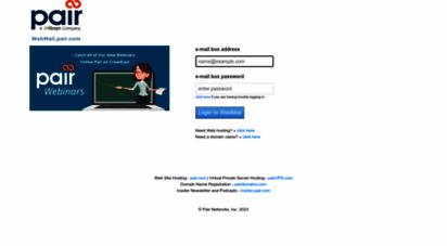 www webmail pair com