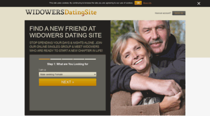 Widowers dating sites
