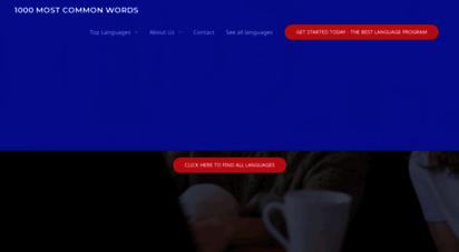 1000mostcommonwords.com