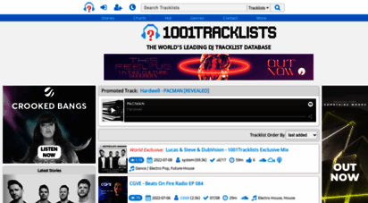 1001tracklists.com - the world´s leading dj tracklist / playlist database ⋅ the meaning behind the music