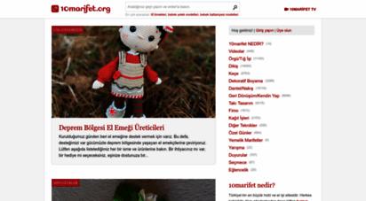 10marifet.org - 10marifet — türkiye´nin en büyük hobi ve el işi sitesi