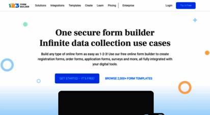 123formbuilder.com - 123formbuilder: create online forms & surveys with drag-and-