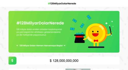 128milyardolar.net - 128milyardolarnerede
