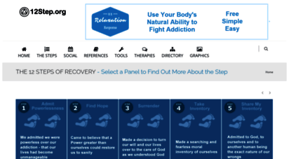 12step.org - 12step.org - quality information and tools for a 12 step program of recovery