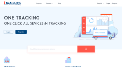 1tracking.net - 1tracking  worldwide package tracking with all services provided