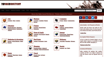 1websdirectory.com - web directory: online general and regional web directory  submit url and get listed  1websdirectory.com