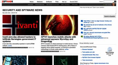 2-spyware.com - security and spyware news