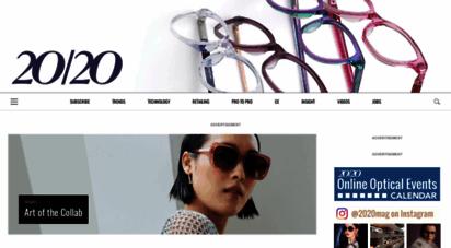 2020mag.com - 20/20 magazine - leading optical publication