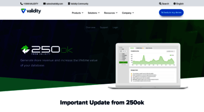 250ok.com - email deliverability, blacklist monitoring, inbox placement  250ok