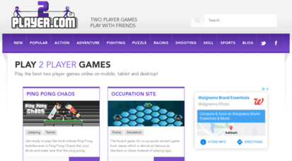 2player.com - 2 player games, two player games and multiplayer games - 2player.com