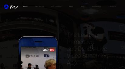 360vuz.com - 360vuz - the 1 360° live mobile app