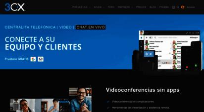 3cx.es - central telefnica pbx basada en software de estándares abiertos 3cx