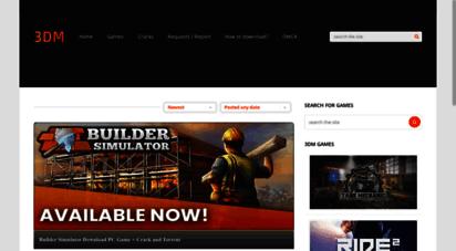 3dm-games.com - 3dm-games - 3dm games - download - cracks - torrents - free