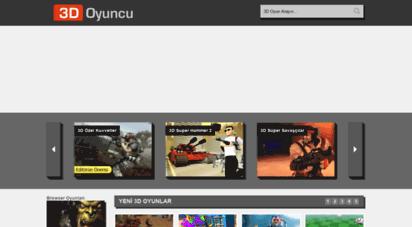 3doyuncu.com - 3d oyunlar - 3d oyuncu - 3 boyutlu shockwave ve unity oyunlar