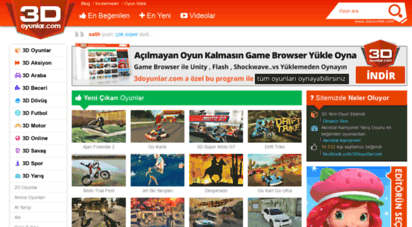 3doyunlar.com - 3d oyunlar  en güzel 3d oyun sitesi  3doyunlar.com