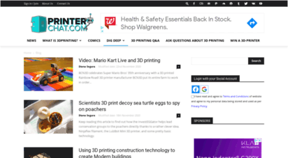 3dprinterchat.com - 3dprinterchat  3d printing news directly from the industry
