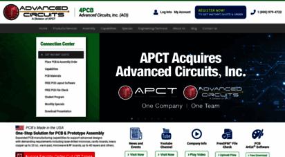 4pcb.com - usa pcb manufacturer & ssembly  advanced circuits