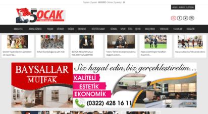 5ocakgazetesi.com - 5 ocak gazetesi çukurovanın en iyi gazetesi
